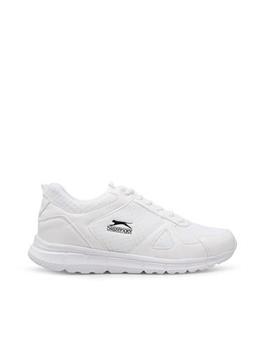 Slazenger Erkek Arya Sneakers SA11RE081 Beyaz